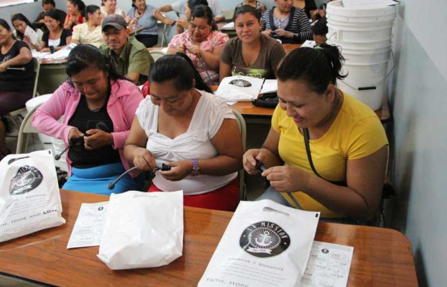 Women in El Salvador